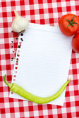 Paper for recipes — Stock Photo