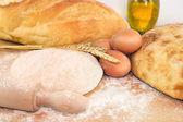 Fare il pane — Foto Stock