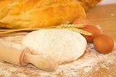 Deeg voor brood — Stockfoto