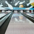bowling strike — Stockfoto