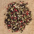 Pile of mix pepper — Stock Photo
