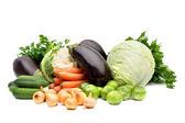 Seasonal vegetables — Stock Photo