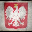 Stock Photo: POLAND ARMS, National flag