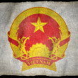 VIETNAM ARMS National flag — Stock Photo #16338805