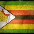 Stock Photo: ZIMBABWE National flag