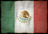 Nationale vlag van Mexico — Stockfoto