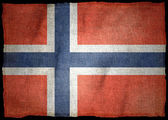 NORWAY National flag — Stock Photo