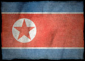 Nordkorea-Nationalflagge — Stockfoto