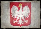 POLAND ARMS, National flag — Stock Photo