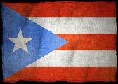 PUERTO RICO National flag — Stock Photo