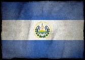SALVADOR National flag — Stock Photo
