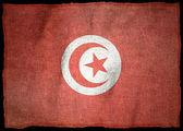 Tunisko národní vlajka — Stock fotografie