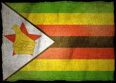 ZIMBABWE National flag — Stock Photo