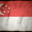 SINGAPORE NATIONAL FLAG — Stock Photo