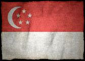 SINGAPORE NATIONAL FLAG — Stock Photo