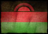 MALAWI NATIONAL FLAG — Stock Photo