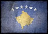 KOSOVO NATIONAL FLAG — Stock Photo