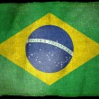 BRAZIL NATIONAL FLAG - Stock Photo