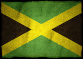 Jamaica flagga — Stockfoto