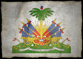HAITI ARMS NATIONAL FLAG — Foto Stock