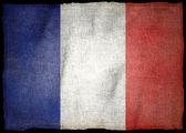 FRANCE NATIONAL FLAG — Stock Photo