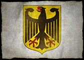 GERMANY ARMS NATIONAL FLAG — Stock Photo