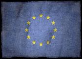 Národní vlajka evropa — Stock fotografie