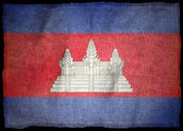 Nationale vlag van Cambodja — Stockfoto