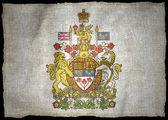 Kanada herb flaga narodowa — Zdjęcie stockowe