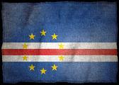 CAPE VERDE NATIONAL FLAG — Stock Photo