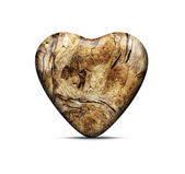 Wood heart — Foto Stock