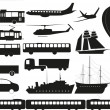 Transport — Vector de stock #16258185