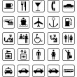 Transport and guide icons — Stock Vector #27664815