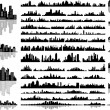 City skylines — Stock Vector