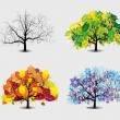 Four seasons — Stock Vector #29559423