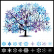 Winter tree — Stock Vector #29702539