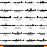Germany cities — Stock Vector #34263665