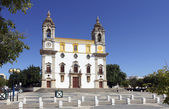 Church of carmo in faro, Algarve, Portugal — Stock Photo