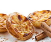 Traditional portuguese cakes — Stock Photo