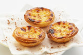 "Traditional portuguese cakes ""pasteis de nata"" — Stock Photo"