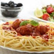 Delicious spaghetti — Stock Photo #16364475
