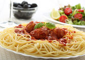 Delicious spaghetti — Stock Photo