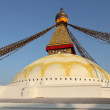UNESCO World Heritage boudhanath temple in kathmandu, Nepal — Stock Photo