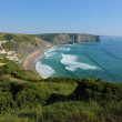 Arrifana beach in South-West Alentejo and Costa Vicentina Natura — Stok fotoğraf