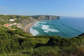 Arrifana beach in South-West Alentejo and Costa Vicentina Natura — Stock Photo