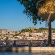 View of the city downtown Lisbon, Portugal, Europe — Stock Photo #49338075