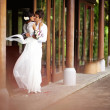 Wedding at villa — Stock Photo #19922117
