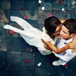 Glorious wedding in Bali - Stock Photo