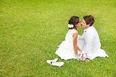 Glorious wedding in Bali — Stock Photo