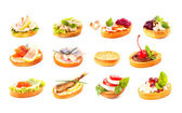 Tasty sandwiches — Foto Stock